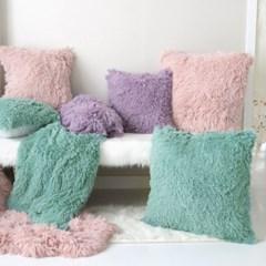 다우니 fur 쿠션-3color