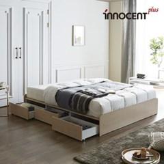 [이노센트] 리브 플로잉 멀티수납형 침대 Q/K_(1788897)
