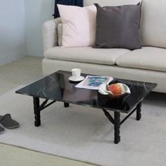 [리코베로] 그란디스 다용도 접이식 테이블 900 화이트/블랙 3컬러