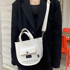 CANVAS TOTE MINI CROSS BAG