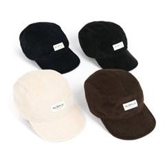 PL CORDUROY CAMP CAP (black)