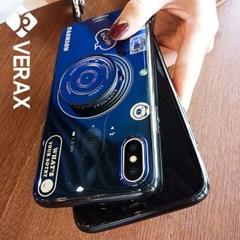 아이폰X 홀로그램 카메라 톡 커버 젤리 케이스 P379_(2096672)