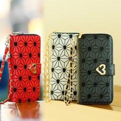 갤럭시노트9 (N960) Estrella-H 지퍼 지갑 다이어리 케이스