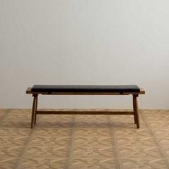 [장미맨숀]메이 원목 다이닝 테이블 식탁 벤치 1400사이즈