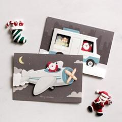 디비디 크리스마스 카드 - Santa