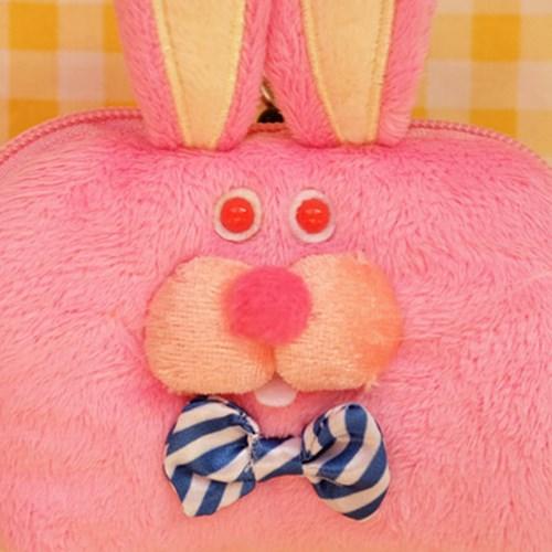 [GLADEE] 그라디 핑크 토끼 카드케이스