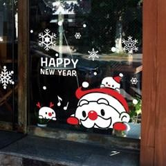 크리스마스 시트지 눈꽃 스티커 19CMJS5253_(992254)