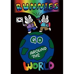 BUNNIES GO AROUND THE WORLD