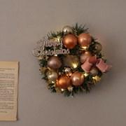 엘리 미니 크리스마스리스 + LED전구set [2color]_(683574)