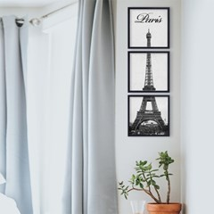 파리 에펠탑 사진 액자 3P세트