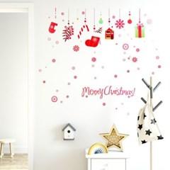 크리스마스 월데코 스티커 4종_(2255888)