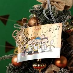 [Peanuts] 크리스마스 홀로그램 엽서 (6종)