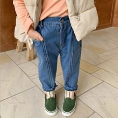 돌핀웨일 엣지라인 데님 겨울팬츠(80~130cm)