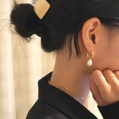 [925실버 진주 귀걸이] 소피아 이어링