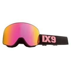 아이엑스나인 IX3pro Pink Glitter 핑크글리터 스키 보드고글