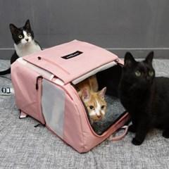 [루이까몽] 아밍백 강아지 고양이 백팩 이동가방 캐리어_(1433303)