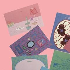 [뮤즈무드] musemood postcard ver.14
