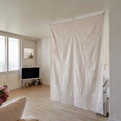 블랭크 린넨 파티션 / 린넨 가벽 (RM 248001)