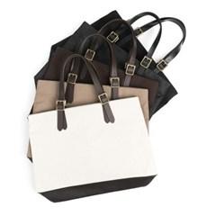 CONVERTIBLE TOTE BAG (beige)