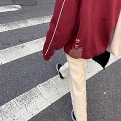 [MADE] 기모 라인 맨투맨 (3colors)
