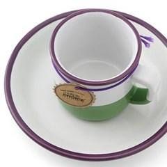 탑초이스 투톤컬러 에스프레소잔 Plum Purple_(1254189)