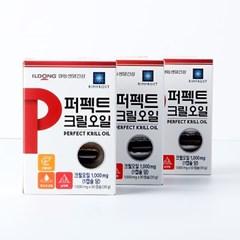 일동생활건강 퍼펙트 크릴오일 1,000mg x 30캡슐
