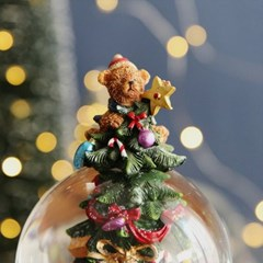 크리스마스트리 스노우볼 오르골 워터볼 L - 크리스마스 - 막스