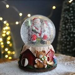 크리스마스 스노우볼 오르골 워터볼 L - 산타클로스B - 막스(MARKS)