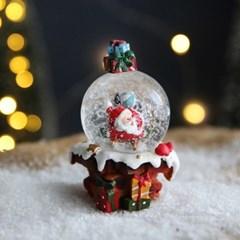 크리스마스 스노우볼 워터볼 S 선물 - 산타클로스A - 막스(MARKS