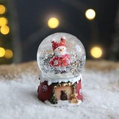 크리스마스 스노우볼 워터볼 S - 스노우맨 - 막스(MARKS)
