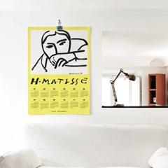 2020 패브릭 포스터 명화 디자인 달력 마티스 no.29