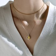 (92.5 silver) two type necklace