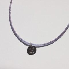 simple_color_neck (6colors) 심플 컬러비즈목걸이