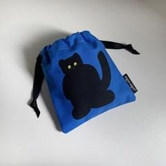 Cute cat string pouch_xs