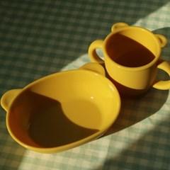 마카롱 키즈 컵 앤 플레이트