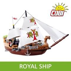 코비 COBI 해적 영국군 범선 6018_(1625158)