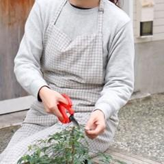 젠느 코튼 앞치마 2color