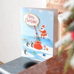 025-CM-0187 / 선물 낚시하는 산타