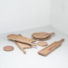 [모노뜨] 시리 원목 내추럴 보드 20cm
