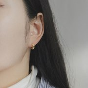 Chaine O earring