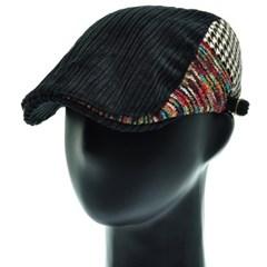 [더그레이]HMH46. 2 패턴 코듀로이 헌팅캡 남성 모자