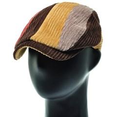 [더그레이]HMH45. 4 칼라 코듀로이 헌팅캡 남성 모자