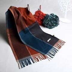 [더로라]울머플러- 첵크포에버5 겨울감나무 S9096