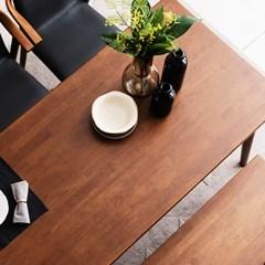 [채우리] 나스르 원목 6인 식탁 테이블