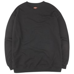 [COVERMENT] [COVERMENT] Big Logo Print Over-Fit Sweatshirts_Blac
