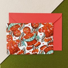 PP 크리스마스 엽서 카드 세트  4종 택1