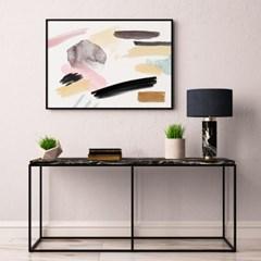 패브릭 캔버스 포스터 추상화 거실 그림 인테리어 액자 명화 파스텔