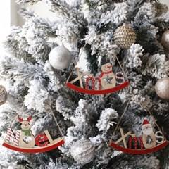 우드 크리스마스 오너먼트 3P set_(1796913)