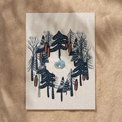 크리스마스 인테리어액자 _ 겨울밤