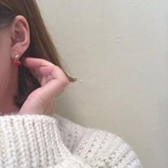 [하트 귀걸이] 아미에 이어링